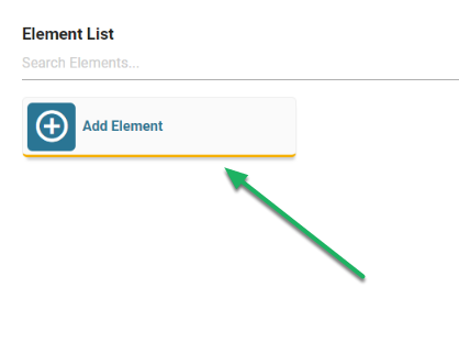 Click on the Add New Element button.