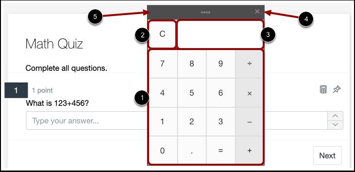 Use Calculator