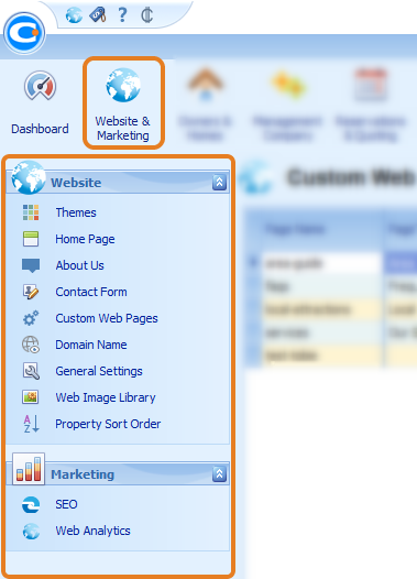 Website & Marketing