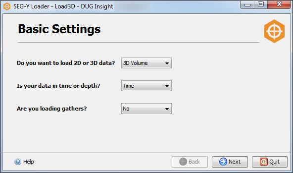 Define the basic settings