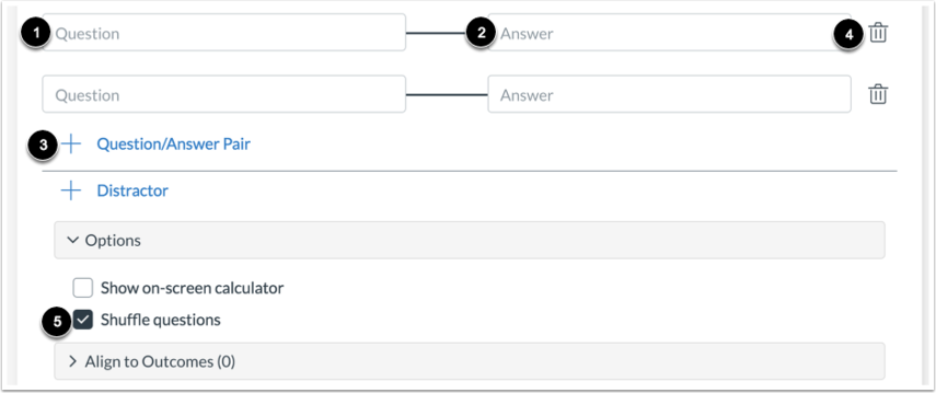 Add Question/Answer Pairs