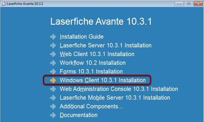 Install Client