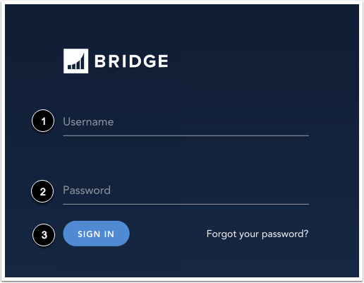 Enter Login ID and Password
