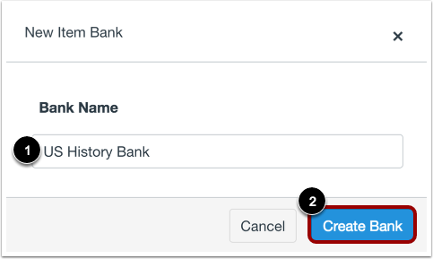 Name Item Bank