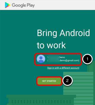 Provide Google Admin Account