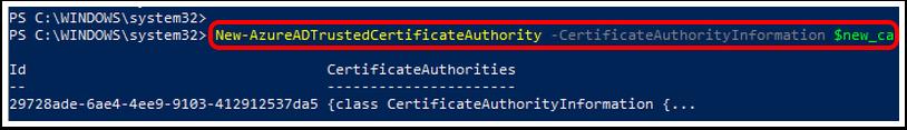 (certificatebased authentication office 365, azure certificate authority, azure ca, Azure ad certification)
