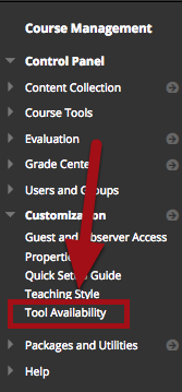 Select Tool Availability