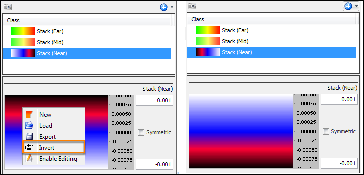 Inverting a Colourbar