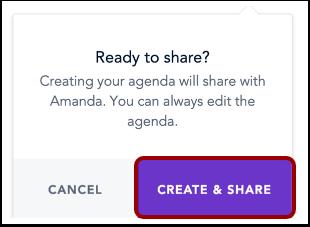 Share Performance Conversation  Agenda