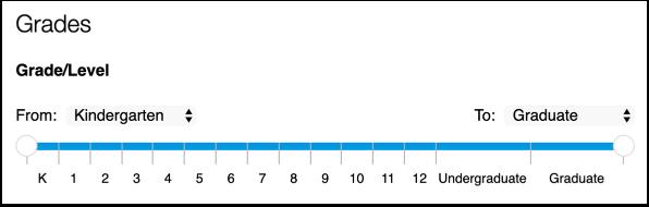 Add Grade/Level