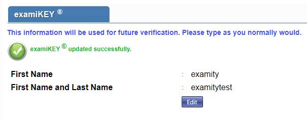 Enter your keystroke biometric signature.