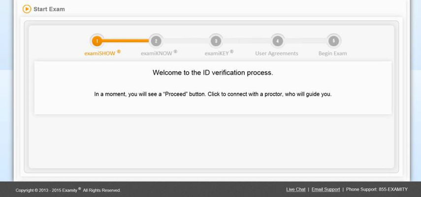 Complete the authentication process.