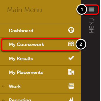 Step 1: Access My Coursework