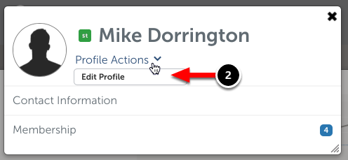 Step 2: Edit Your Profile