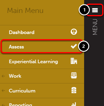 Step 1: Access Pending Assessments