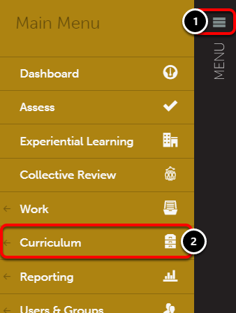 Step 1: Access Outcome Sets