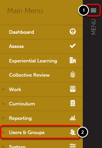 Step 3: Assign Assessors to Department