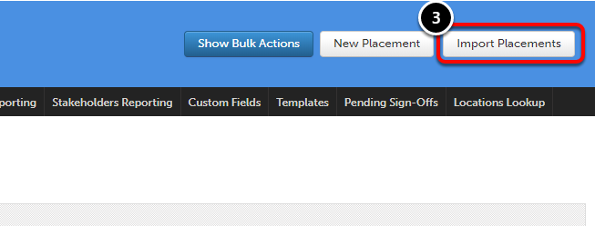 Step 3: Access Field Placement Importer