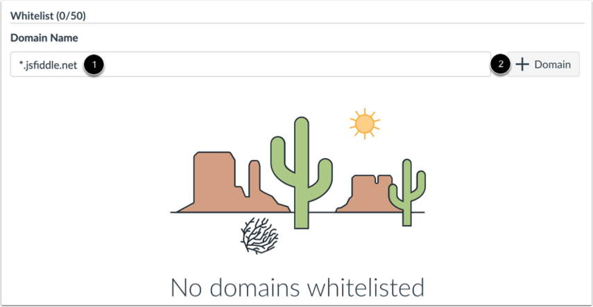 Add Domain to Whitelist