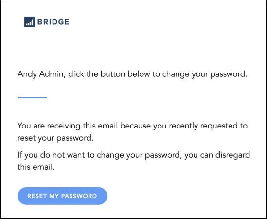 View Password Reset Notification