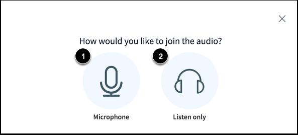 Deelnemen met audio