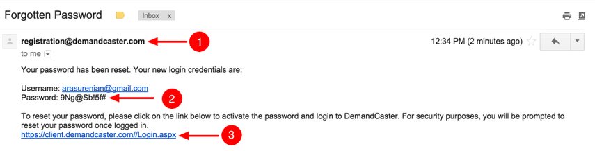Open Email in Inbox