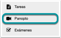 Ir a Panopto.