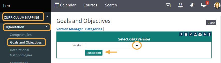 Step 2: Select a G&O Version