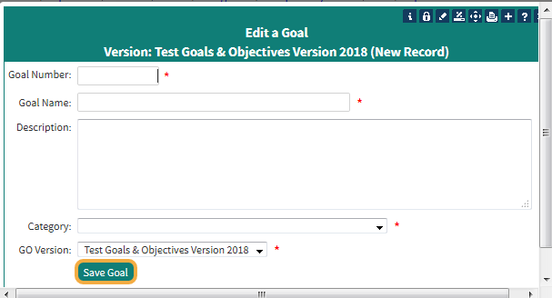 Step 4: Fill out the required fields (*)