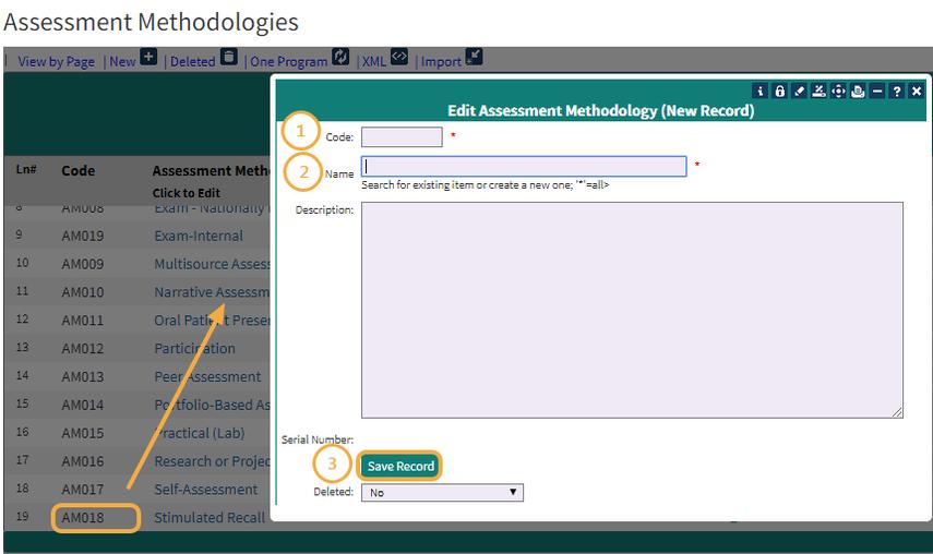 Edit Assessment Methodology