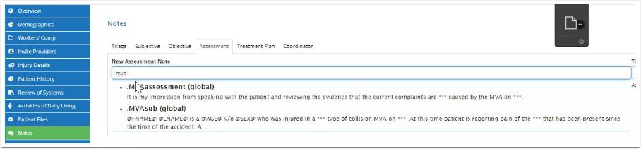 Add MVA Assessment