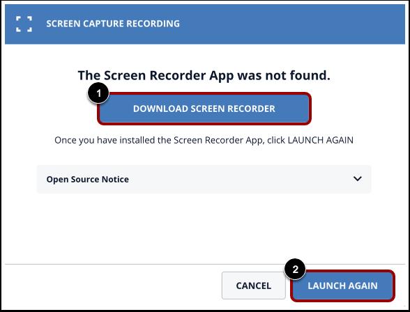 Download Screen Capture Application