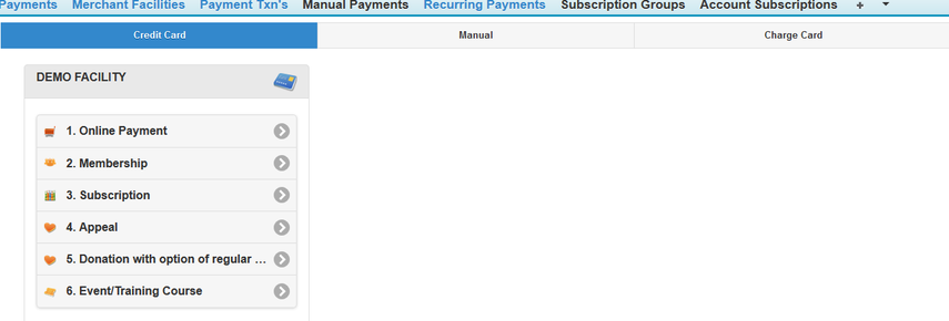 Make Payment Example