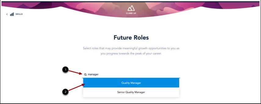 Search for Future Roles