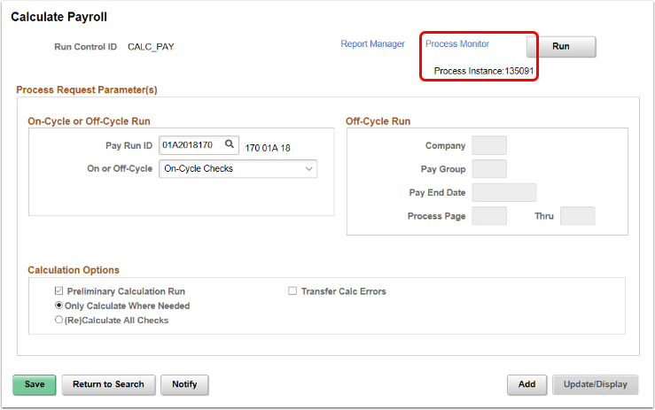 Process Instance Number