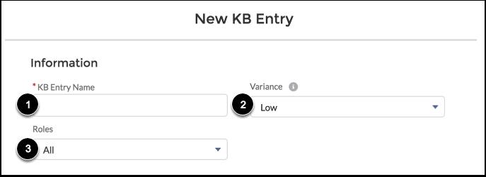 Enter Entry Details