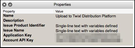 Upload Properties