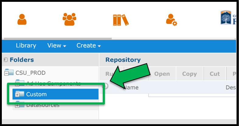 Custom Folder location
