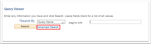 Query Viewer window