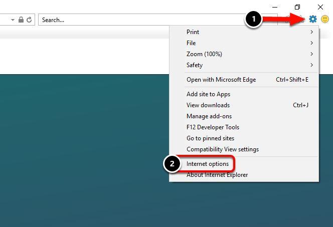 Internet Explorer 9, 10 & 11