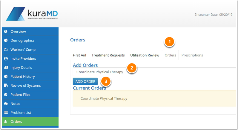 Complete Treatment Requests