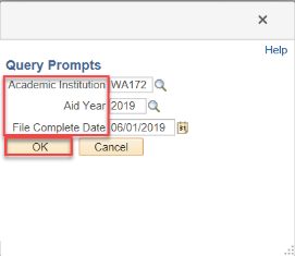 EDIT PROMPTS WITH FILE COMPLETE DATE