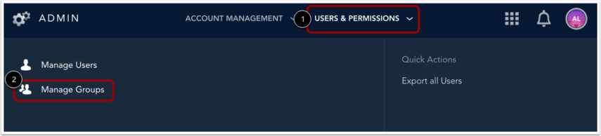 Open Manage Groups