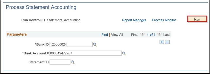 Process Statement Accounting page