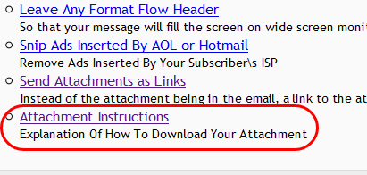 """You can edit the wording appearing at the top by clicking on """"Attachment Instructions"""":"""
