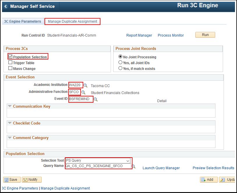 3 C Engine Parameters tab