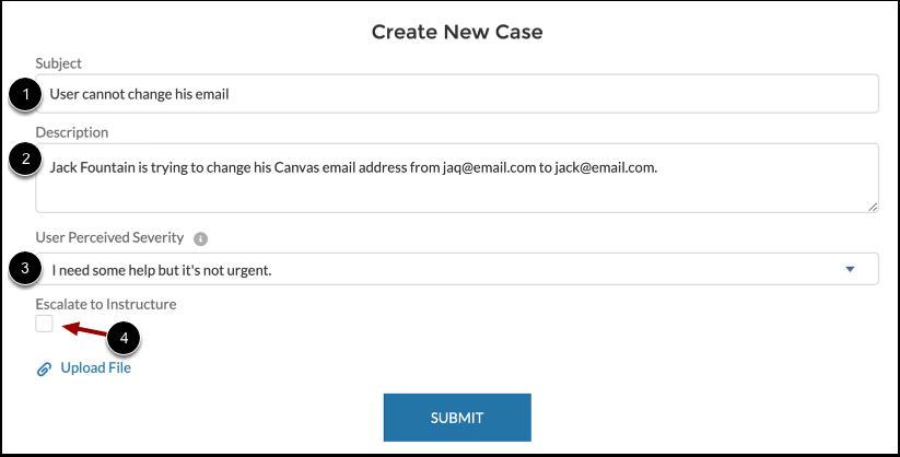 Add Case Details