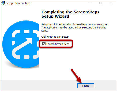 Launch ScreenSteps