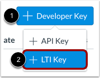 Add LTI Key