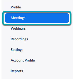 Select My Meetings